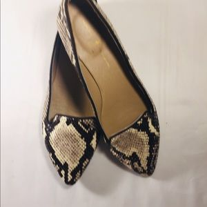 Women's Genuine Snake Skin Shoes Size 7